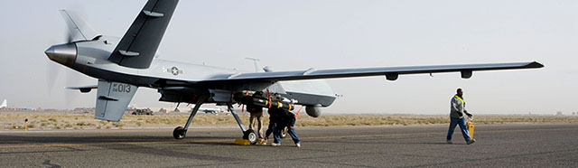Air Force's hunter-killer UAV now flying in Afghanistan