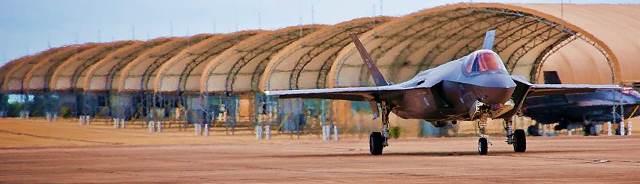 USAF Flickr - F-35A Lightning II taxis Eglin AFB