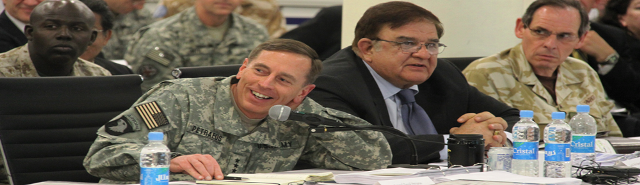 Petraeus in Afghanistan ROCK DRILL by Ledford