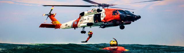 Helo Hoist Coast Guard - DoD Image