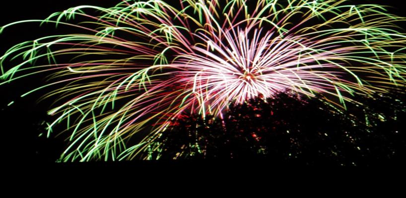 Fireworks over Bragg - Ed Ledford