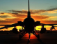 F-16 Sunset - US Air Force photo