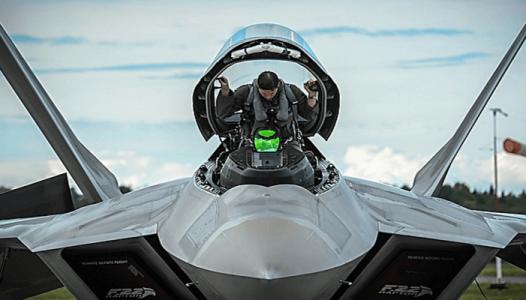 Saddling a Raptor - USAF photo