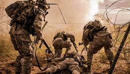 Under the wire - Washington National Guard photo
