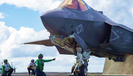 F-35 Deck Launch - US Navy photo