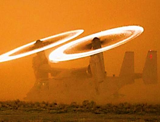 Osprey Blad Fire - USMC photo