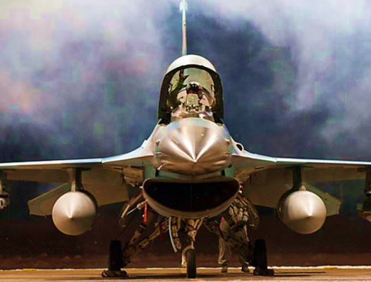 F-16 pre-takeoff - US Air Force photo