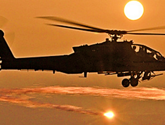 Apache Fires - US Army photo