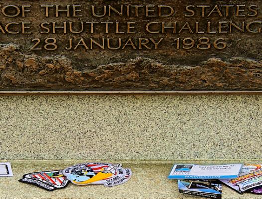 Challenger Memorial 2 - NASA photo