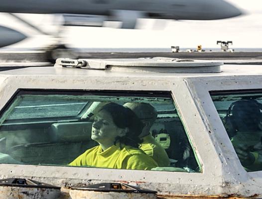 Flight Deck Bubble - US Navy image