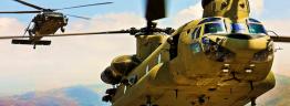 Helos landing - US Army photo