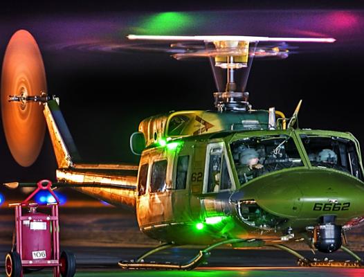 Hip Huey - USAF photo