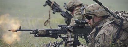 Automatic Weapon Fire - US Army photo
