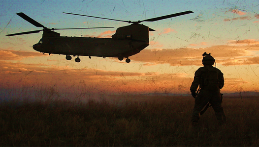 CH47 Spec Ops Support - US Army photo