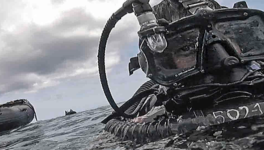 EOD Diver - US Navy photo