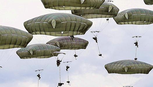 Paradrop - US Air Force photo