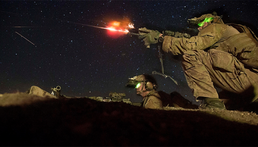 Ranger Bn Live Fire - US Army photo
