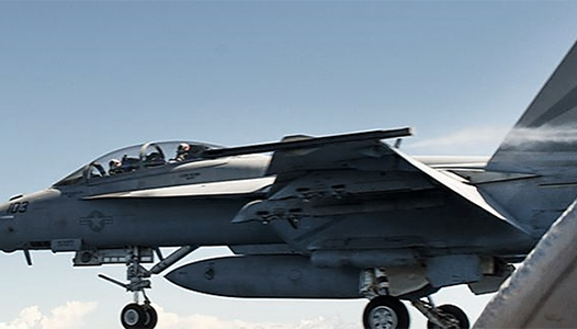 Super Hornet carrier launch - US Navy photo
