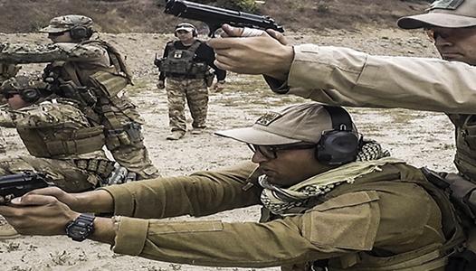 Two-man tactics - US Navy photo